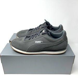 Puma - Men's Turin Premium Suede 'Charcoal Gray'